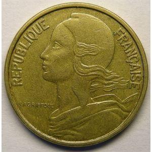 Monnaie française, Marianne, 50 centimes 1962 4 plis