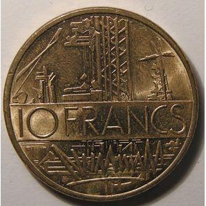 Monnaie française, Mathieu, 10 Francs 1985 SUP+ tranche A, Gadoury: 814