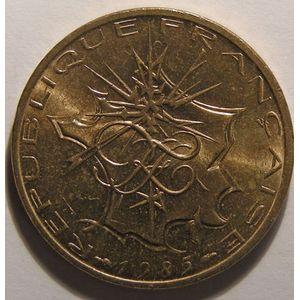 Monnaie française, Mathieu, 10 Francs 1985 SUP+ tranche B, Gadoury: 814