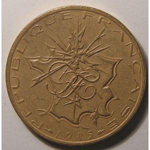 Monnaie française, Mathieu, 10 Francs 1985 TTB+ tranche B, Gadoury: 814