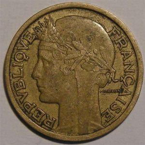 Monnaie Française, Morlon, 1 Franc, 1935