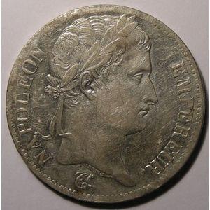 Monnaie française, Napoléon I, 5 Francs 1813 A Paris , Gadoury: 584, TTB+/SUP