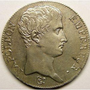 Monnaie française, Napoléon Ier empereur, 5 Francs l'AN 13 A  Paris