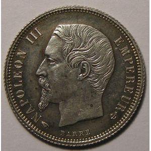 Monnaie Française, Napoléon III, 50 Centimes 1858 A SUP+, Gadoury: 414