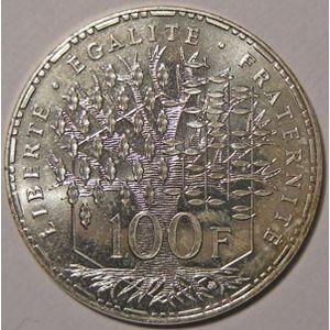 Monnaie française, Phantéon, 100 francs 1995