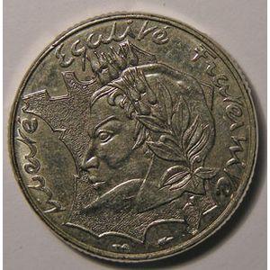 Monnaie française, République, 10 Francs 1986 SUP Bretagne touchant le listel , Gadoury: 824