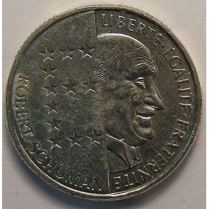 Monnaie française, Schuman, 10 Francs 1986, SUP , KM#958