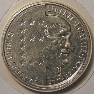 Monnaie française, Schuman, 10 Francs 1986