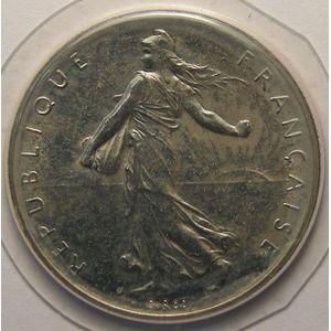 Monnaie française, Semeuse, 1 Franc 1980, FDC, Gad : 474