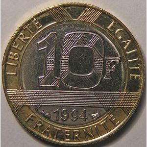 Monnaie française, Semeuse, 10 Francs 1994 Abeille