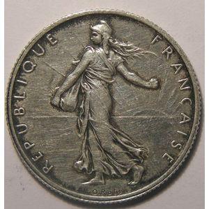 Monnaie française, Semeuse, 2 francs 1901, SUP, Gadoury: 532