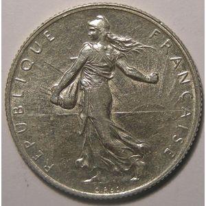 Monnaie française, Semeuse, 2 francs 1909, TTB, Gadoury: 532
