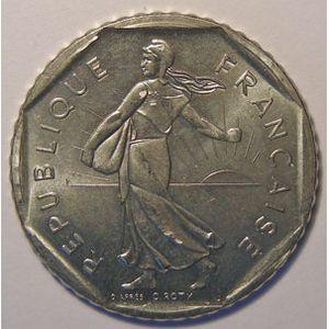 Monnaie française, Semeuse, 2 Francs 1985, SUP+, Gad: 547