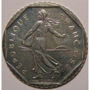 Monnaie française, Semeuse, 2 Francs 1990 SUP+, Gadoury: 547