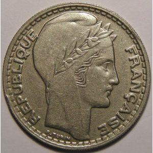 Monnaie française, Turin, 10 francs 1946 B Rameaux longs, TTB,