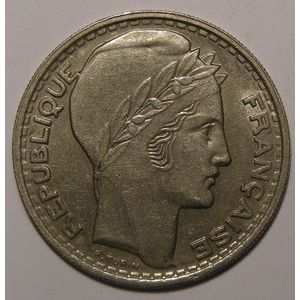 Monnaie française, Turin, 10 francs, 1946 Rameaux longs TTB/TTB+, Gad: 810