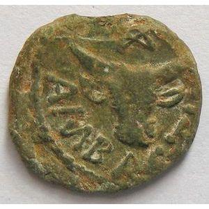 Monnaie Gauloise, Médiomatriques, Bronze AMBACTVS, 1.69 Grs, DT: 619, TTB