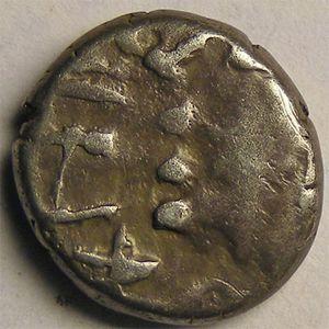 Monnaie gauloise, Séquanes, Denier TOGIRIX