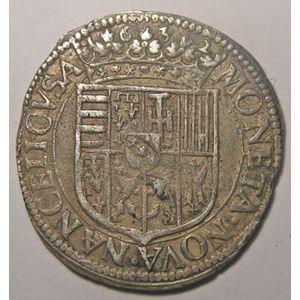 Monnaie Lorraine, duché de Lorraine, Charles IV (1625-1634),  Teston 1632, Flon P702 n° 17