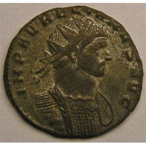 Monnaie romaine, empereur, Aurélien, antoninien, R/ IOVI CONSER