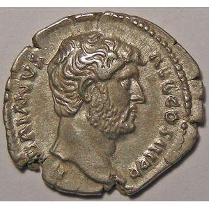 Monnaie romaine, empereur, Hadrien, Hadrianus, Denier,  R/ FIDES PVBLICA
