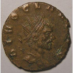 Monnaie romaine, empire romain, Claude II, Claudius II, Antoninien, R/ CONSECRATIO, 2.84 Grs, TB+/TTB