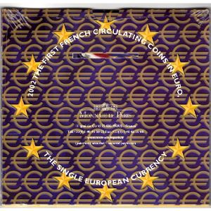 Monnaies Euros, France, Coffret BU 2002 , Neuf
