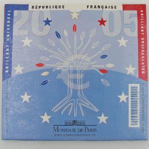 Monnaies Euros, France, Coffret BU 2005, neuf