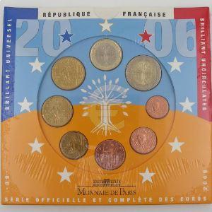 Monnaies Euros, France, Coffret BU 2006, neuf