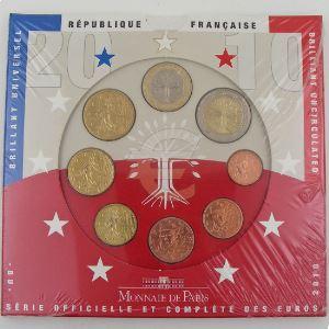 Monnaies Euros, France, Coffret BU 2010, neuf