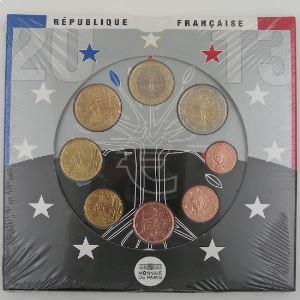 Monnaies Euros, France, Coffret BU 2013, neuf