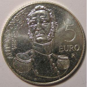 Monnaies Euros, San Marino, 5 Euro 2005, SPL
