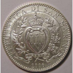 Monnaies Euros, San Marino, 5 Euro 2006, SPL