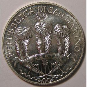 Monnaies Euros, San Marino, 5 Euro 2007, SPL
