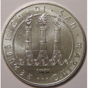 Monnaies Euros, San Marino, 5 Euro 2008, SPL