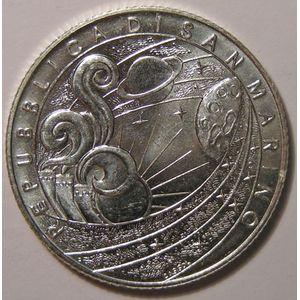 Monnaies Euros, San Marino, 5 Euro 2009, SPL