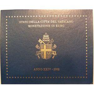 Monnaies Euros, Vatican, Série 2002, SPL
