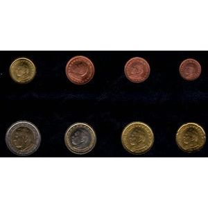 Monnaies Euros, Vatican, Série 2003, SPL
