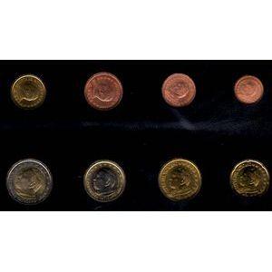 Monnaies Euros, Vatican, Série 2004, SPL