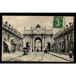 NANCY - Arc de Triomphe - Rue Héré
