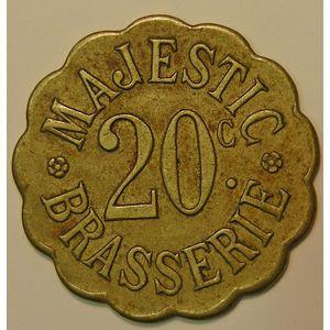 Nancy, Brasserie Majestic, 20 C, TTB