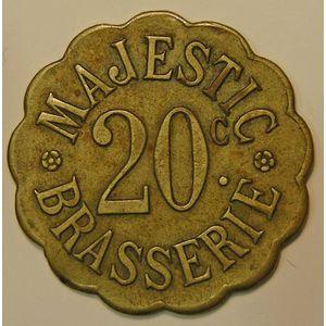 Nancy , Brasserie Majestic, 20 C, TTB