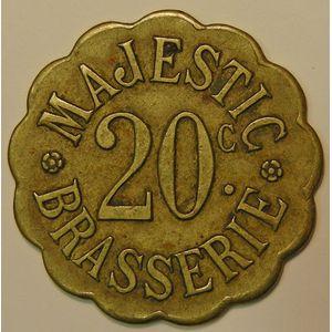 Nancy, Brasserie Majestic , 20 C, TTB