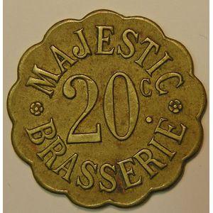 Nancy, Brasserie Majestic, 20 C , TTB