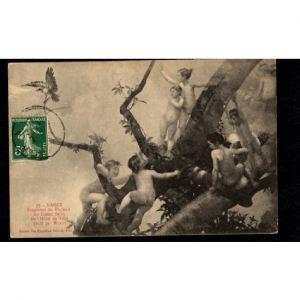 NANCY - Fragment du Plafond du Grand Salon de l'Hotel de Ville peint par Morot