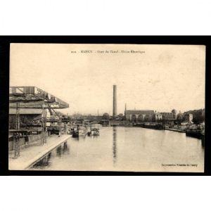 NANCY - Gare du Canal - Usine Electrique