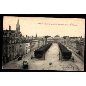 NANCY - Place de la Carrière, Vue prise de l'Arc de Triomphe