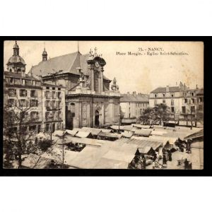 NANCY - Place Mengin - Eglise Saint Sébastien