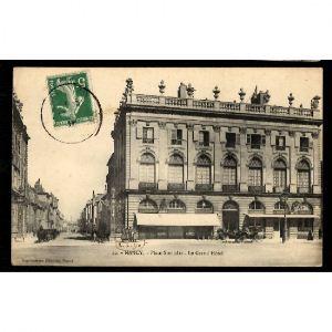 NANCY - Place Place Stanislas - Le Grand Hôtel