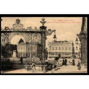 NANCY - Place Stanislas - Grille en Fer Forgé, par Jean L'Amour (XVIIIe Siècle)